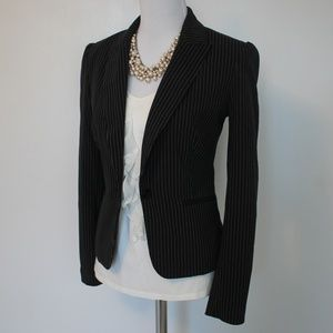 THE LIMITED Size 6 Black Suit Jacket Blazer